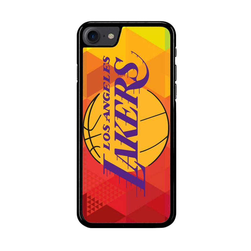 Flazzstore La Lakers Basketball Team Logo Z2991 Custom Casing for iPhone 7 or iPhone 8
