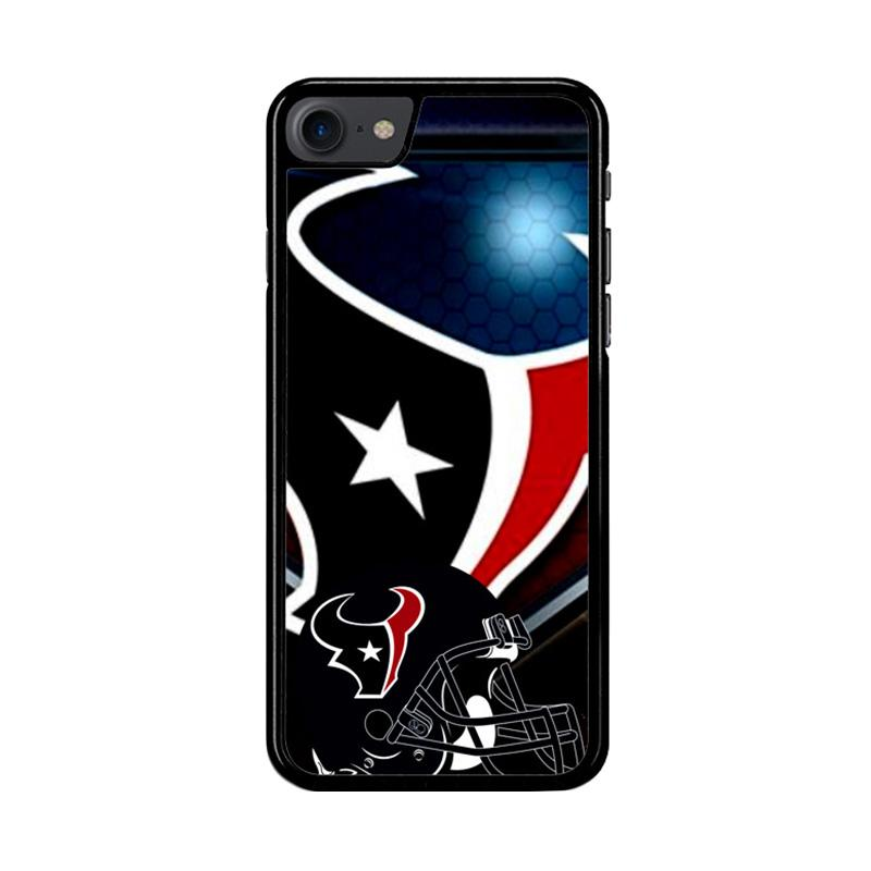 Flazzstore Houston Texans Logo Z3003 Custom Casing for iPhone 7 or 8