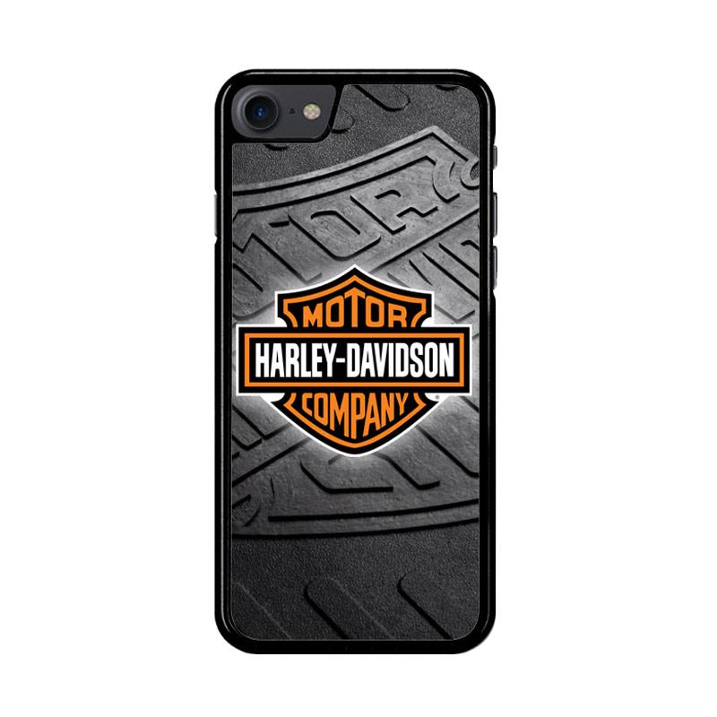 Flazzstore Harley Davidson Logo Z3250 Custom Casing for iPhone 7 or 8