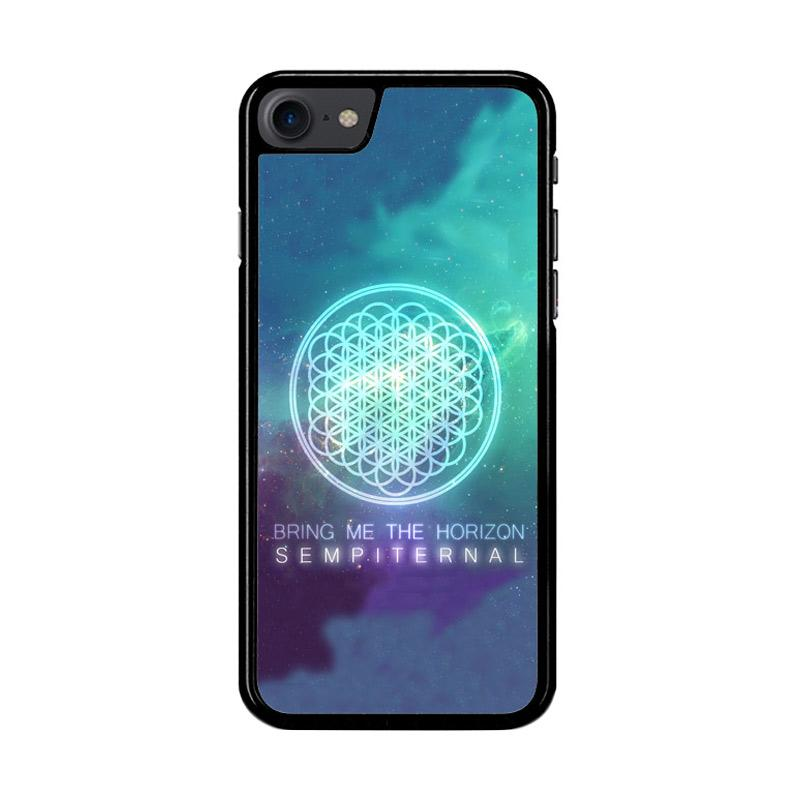 Flazzstore Bring Me The Horizon Logo Sempiternal Galaxy Z3974 Custom Casing for iPhone 7 or 8