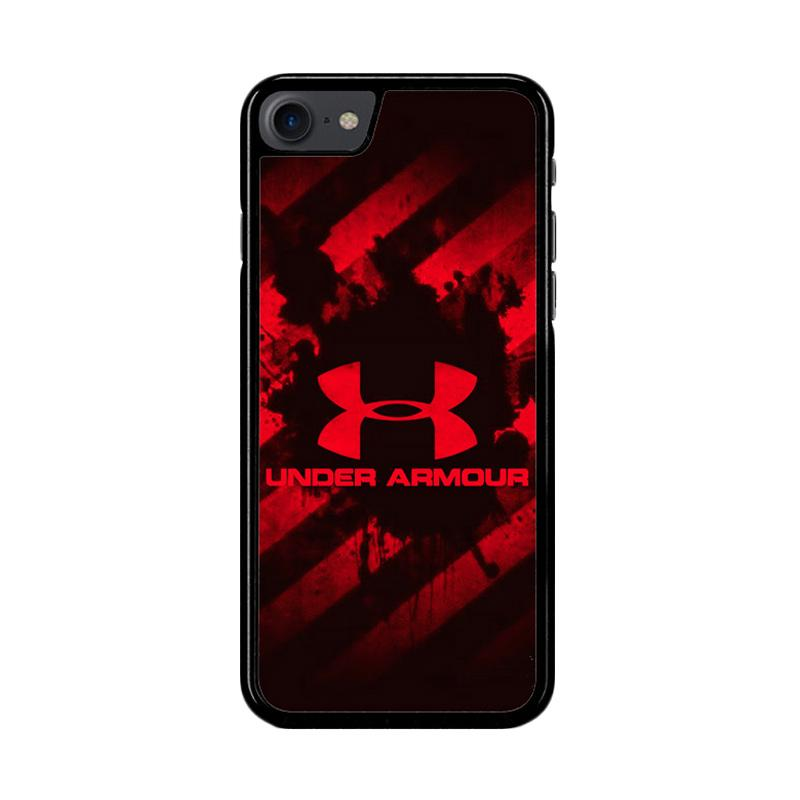 Flazzstore Under Armour Red Z4027 Custom Casing for iPhone 7 or 8