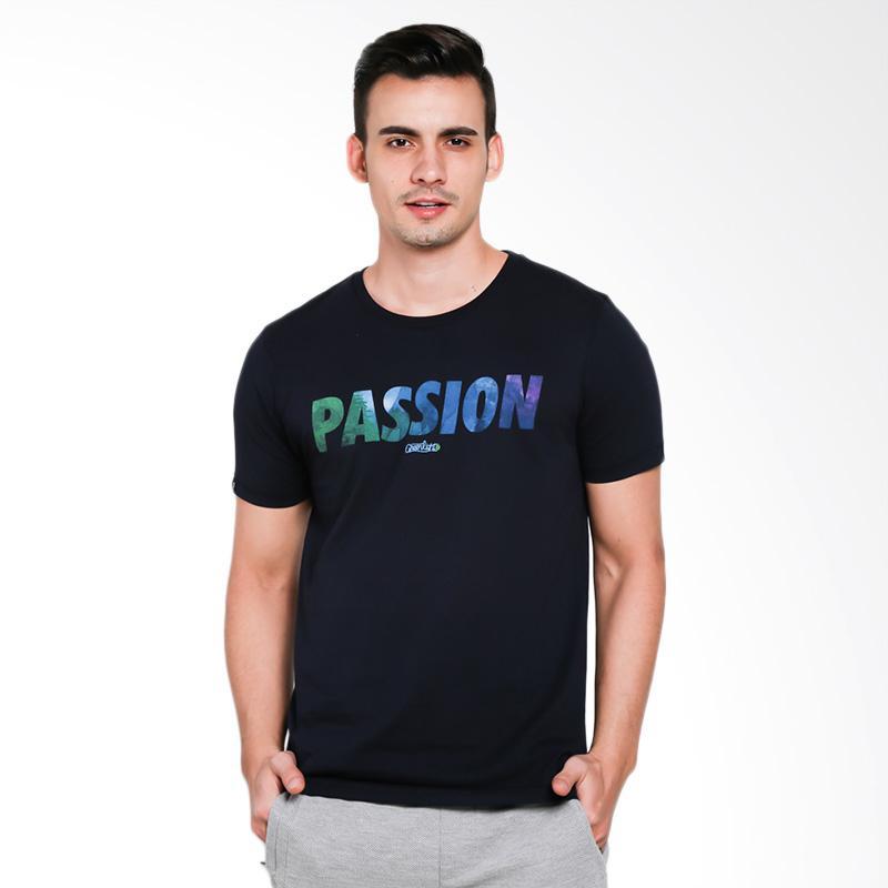 Greenlight Men 5201 T-Shirt Pria - Blue