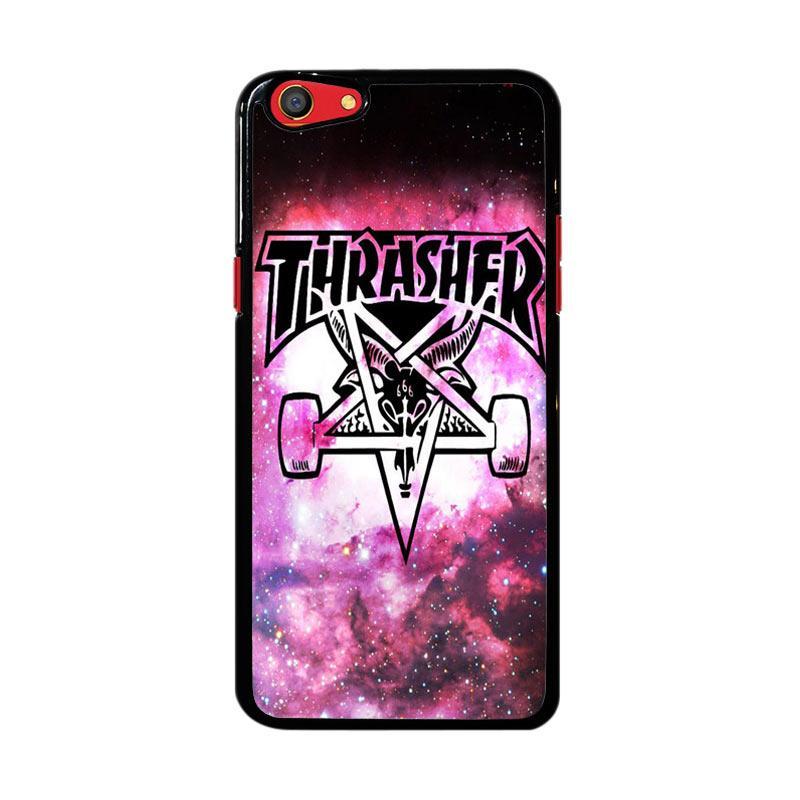 Flazzstore Thrasher Logo Galaxy Z4743 Custom Casing for Oppo F3
