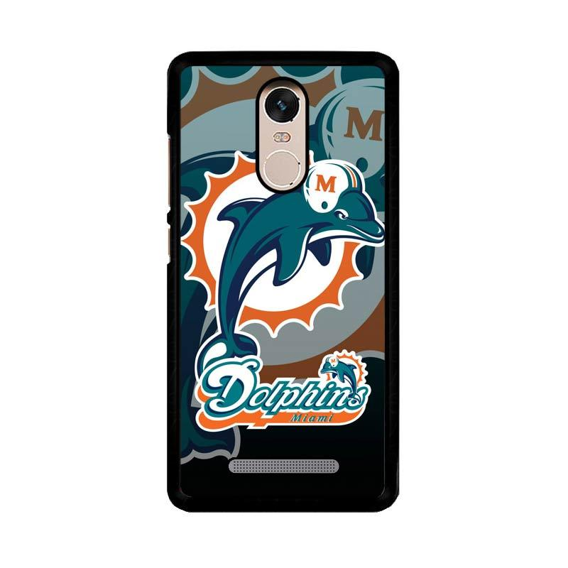 Flazzstore Miami Dolphins Nfl Z3270 Custom Casing for Xiaomi Redmi Note 3 or Note 3 Pro