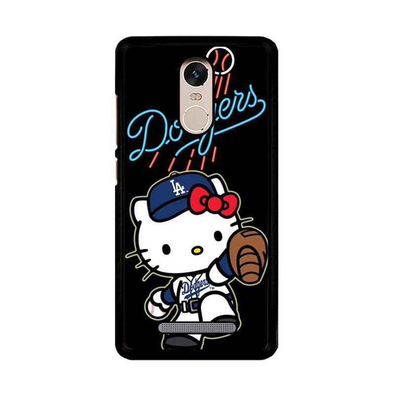 Flazzstore La Dodgers Hello Kitty Z3306 Custom Casing for Xiaomi Redmi Note 3 or Note 3 Pro