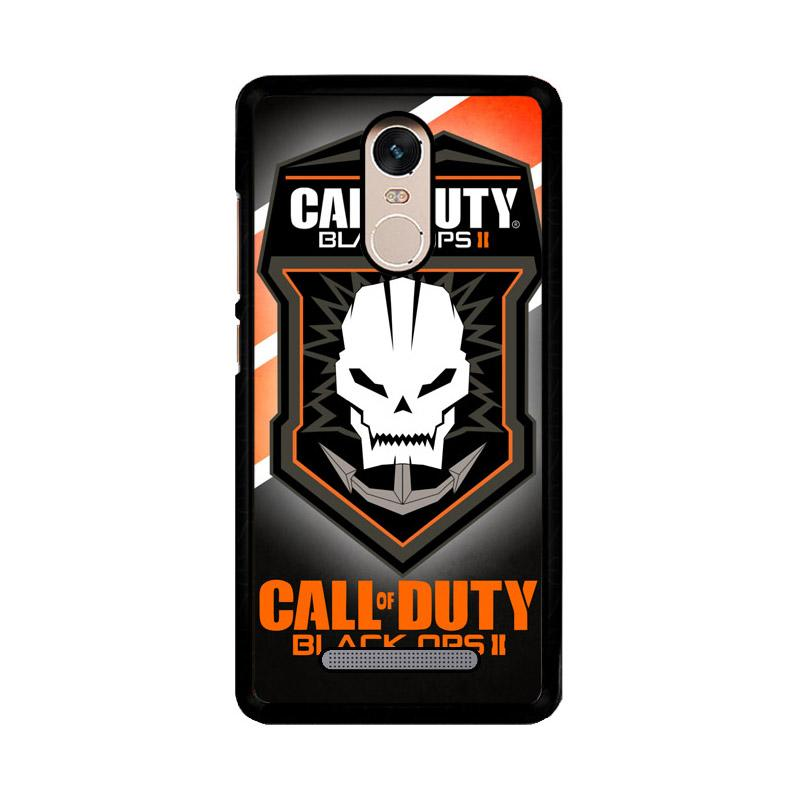 Flazzstore Call Of Duty Black Ops 2 Logo Z3308 Custom Casing for Xiaomi Redmi Note 3 or Note 3 Pro