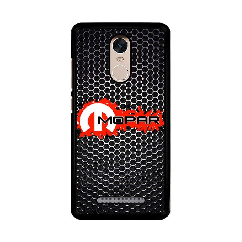 Flazzstore Mopar Black Logo Z4067 Custom Casing for Xiaomi Redmi Note 3 or Note 3 Pro