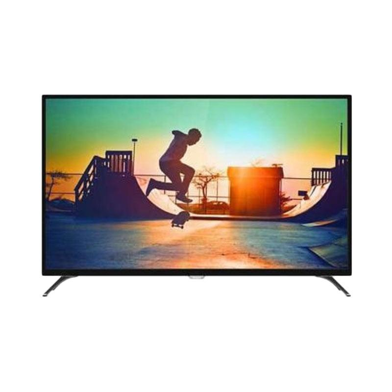 Philips 50PUT6002 4K Smart LED TV - Hitam [50 inch/DVB-T2]