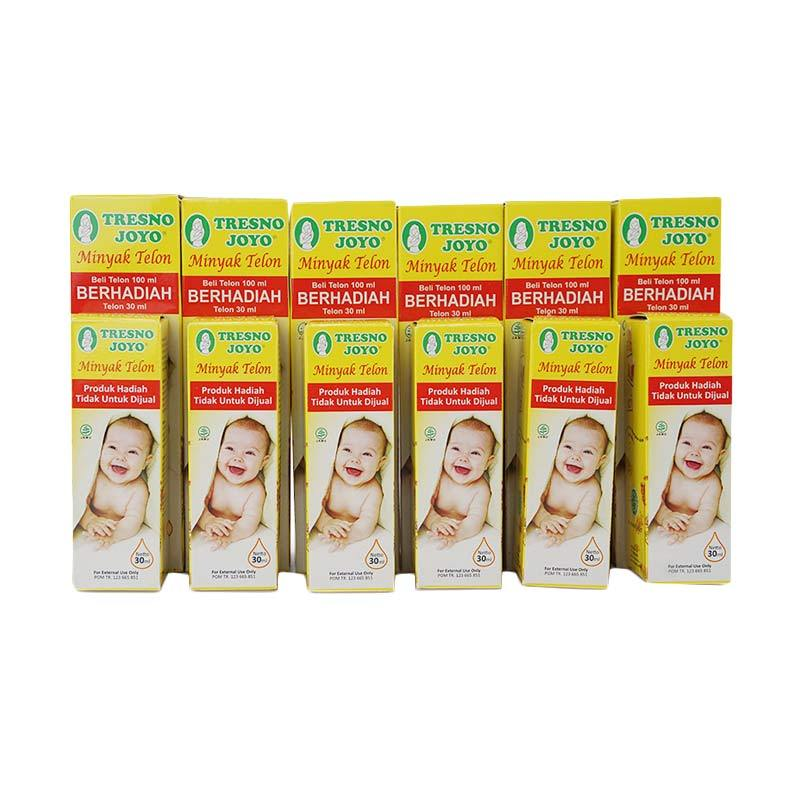 Tresno Joyo Paket Minyak Telon [6 pcs @100 mL + 30 mL]