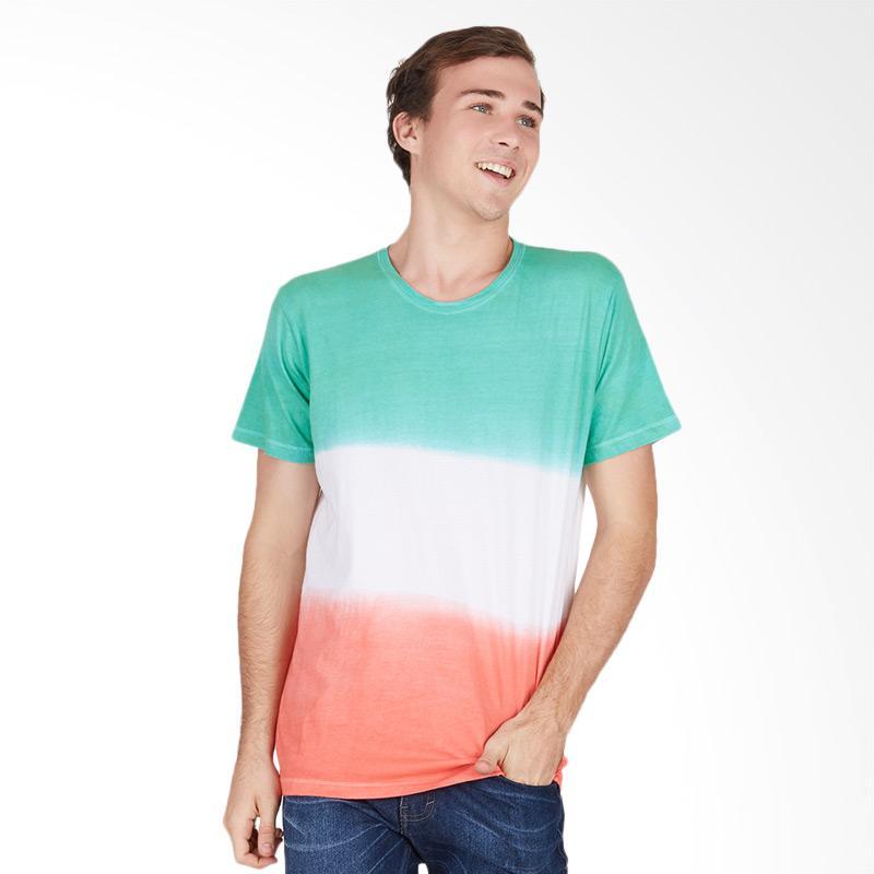 Tendencies MIX DYE T-shirt Pria - Green