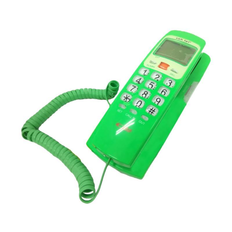 harga Telepon Kabel Sahitel S37 Single Line - Telepon Kabel Rumah Kantor - Green Blibli.com