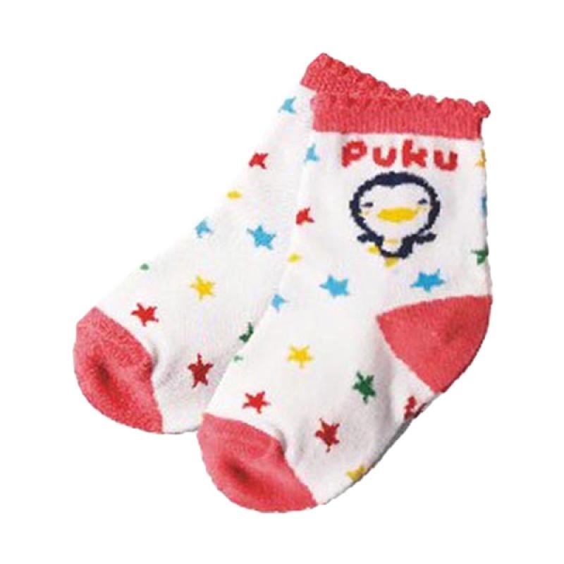 Puku 27017 Baby Sock Kaos Kaki Bayi - Pink