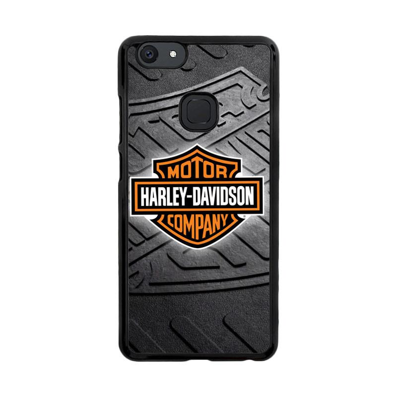 Flazzstore Harley Davidson Logo Z3250 Custom Casing for Vivo V7