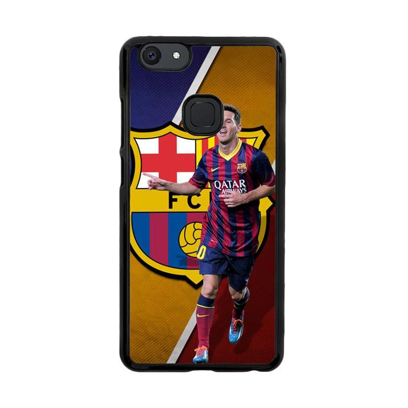 Flazzstore Fc Barcelona Messi X3139 Custom Casing for Vivo V7