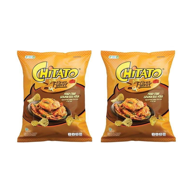 harga Chitato Fried Crab Golden Egg Yolk [55 g/2 pcs] Blibli.com