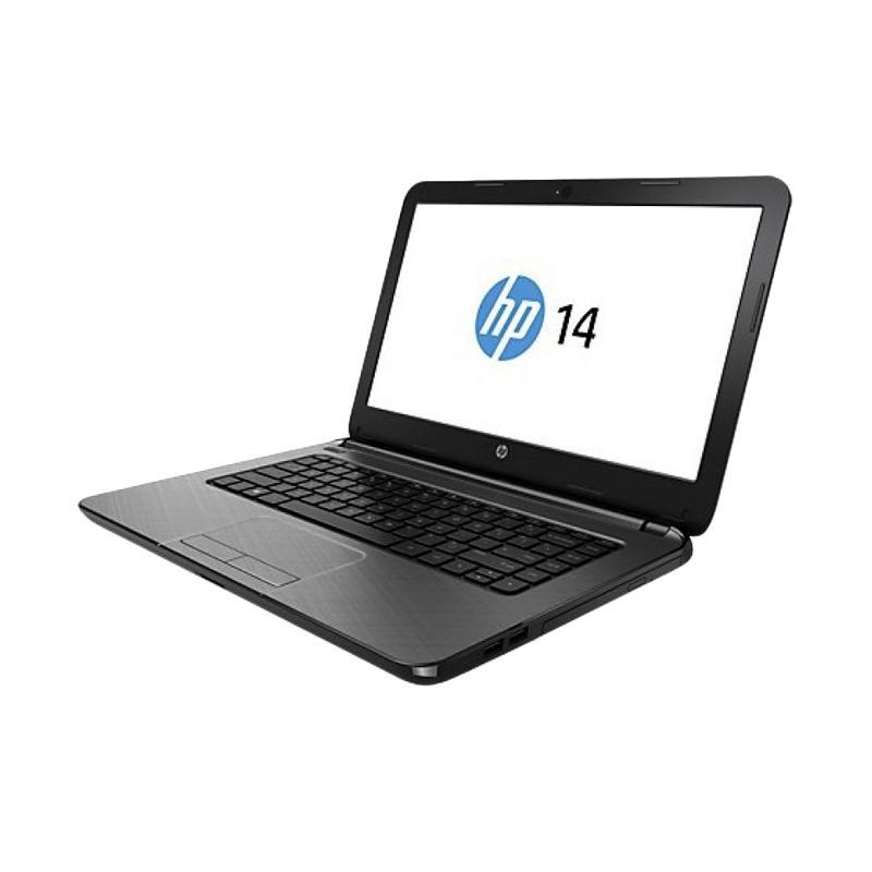 harga HP AN002AX Notebook - Abu-abu [AMD A8-7410/ 4GB/ 500GB/ DVDRW/ 14 Inch/ AM Radeon R5 M430 2GB] Blibli.com