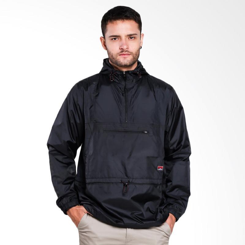 3SECOND 0801 Jacket Pria - Black