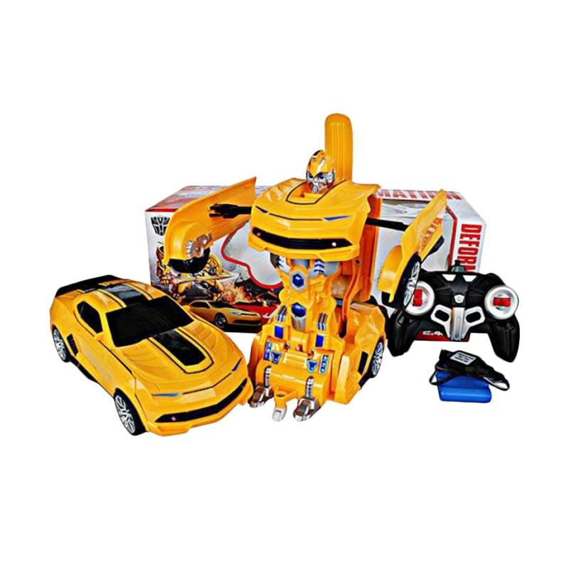 Jual Rc Car Robot 2in1 Deformation Transformer Bumblebee 999 1 Mainan Mobil Remote Control Online Maret 2021 Blibli