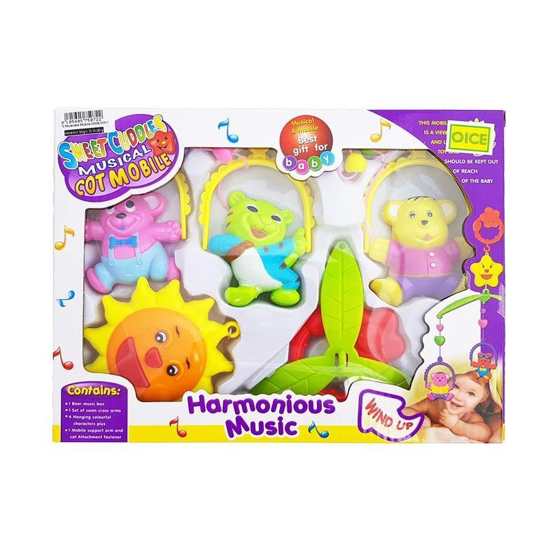 MOMO A Musical Mobile Harmonious Music Mainan Bayi