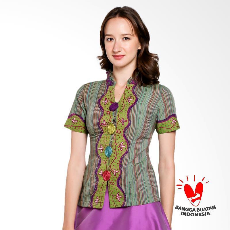 harga Lombang Batik Blus Kragh Kerut Pakaian Wanita Blibli.com