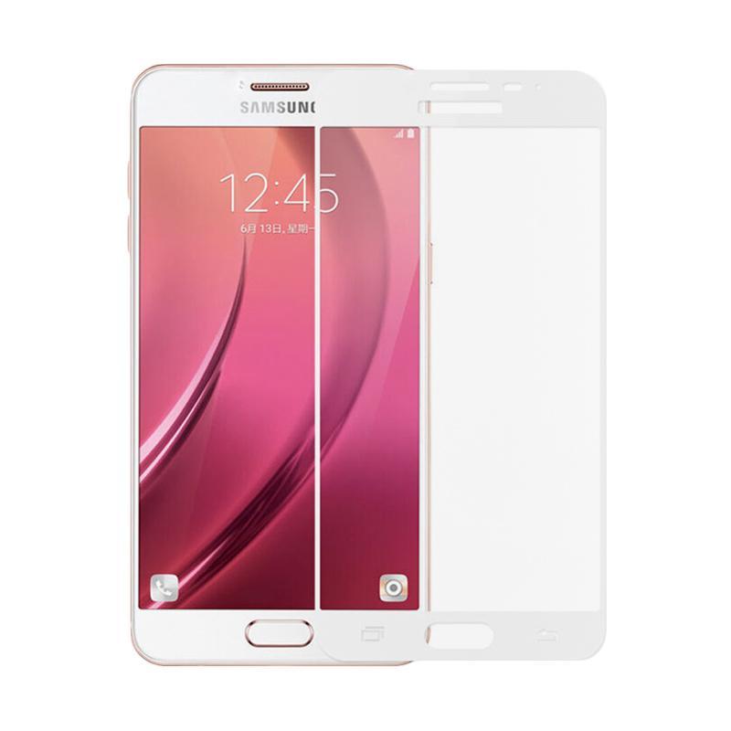 Kelebihan Kekurangan QCF Tempered Glass Full Screen Protector for Samsung Galaxy J3 Pro 2016 J3110 -