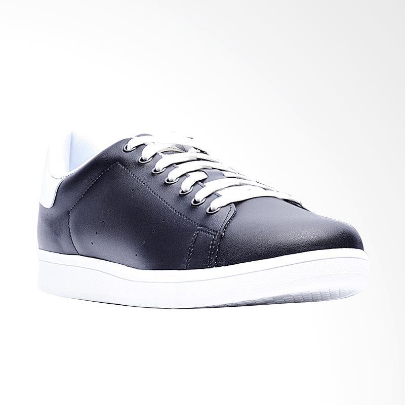 harga Life8 Classic Casual Cattle Fabric Shoes Sepatu Sneakers Pria - Black [09580] Blibli.com