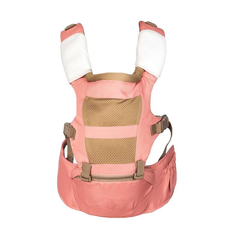 BabySafe Baby Hip Seat Gendongan Bayi - Pink