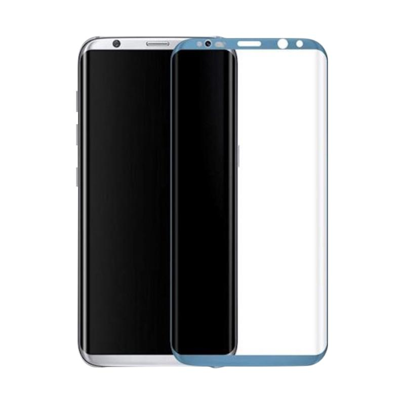 3T Tempered Glass Screen Protector for Samsung Galaxy S8 Plus - Blue [Full Cover]