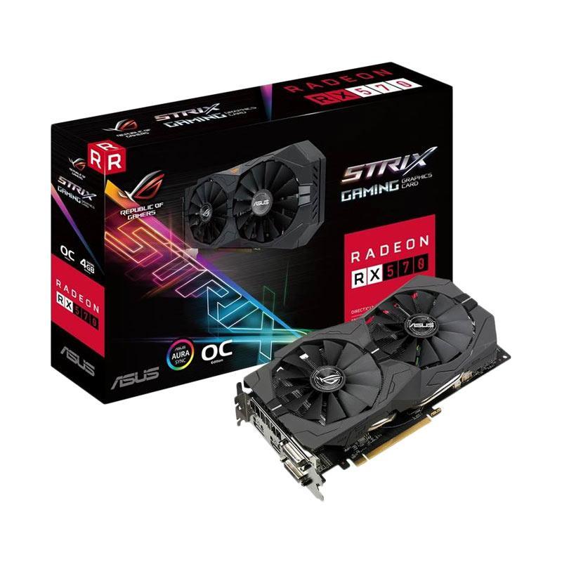harga Asus ROG Strix RX 570 Gaming Graphic Card [4 GB] Blibli.com