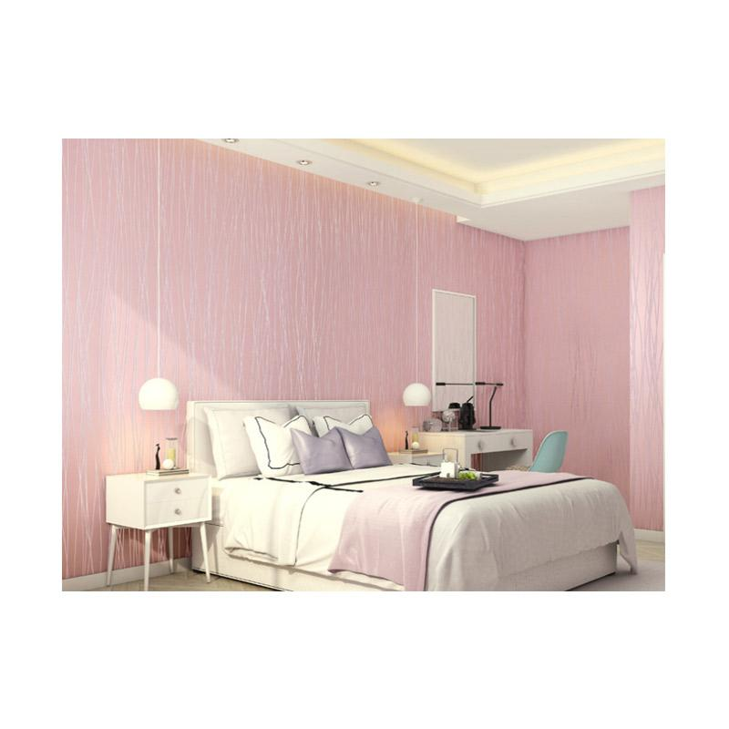 harga Akana's 7066 Fashion Modern Stripe Non Glue Wallpaper 3D [53cmx10m] Blibli.com