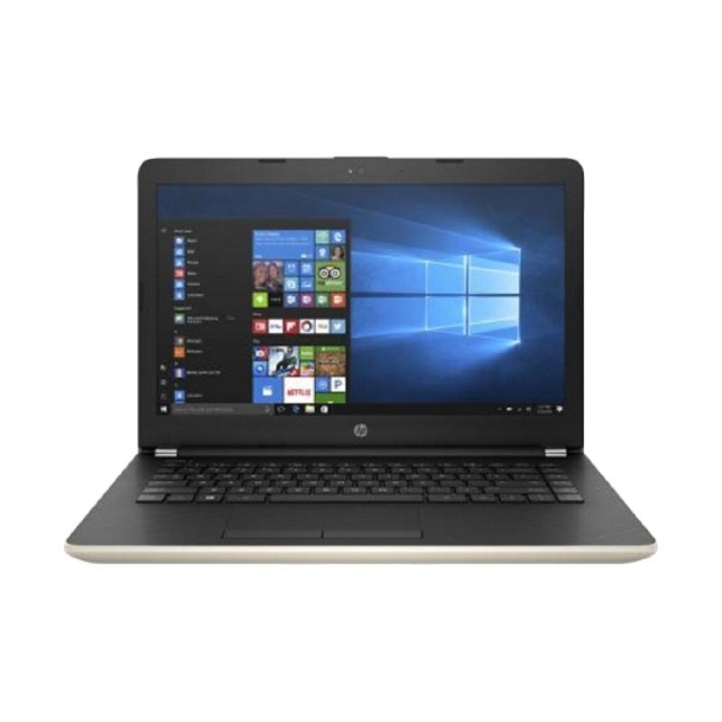 harga HP 14-BS129TX Notebook - Emas [Intel Core i5-8250U/ 4 GB/ 1 TB HDD/ 14 Inch/ Win 10] Blibli.com