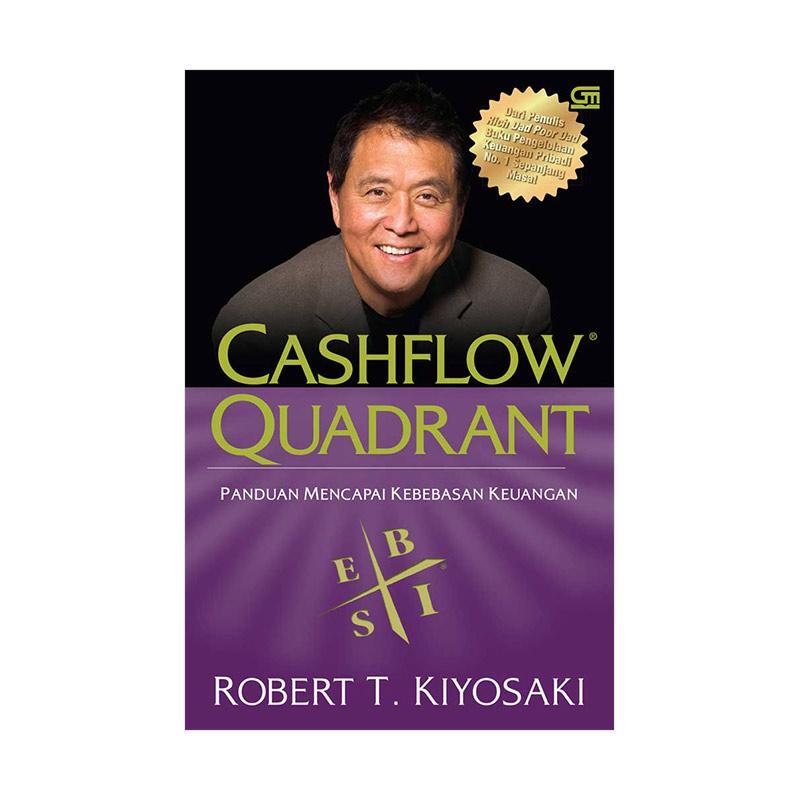 Gramedia Pustaka Utama Rich Dad`S Cashflow Quadrant by Robert T.Kiyosaki Buku Ekonomi [Edisi Revisi]