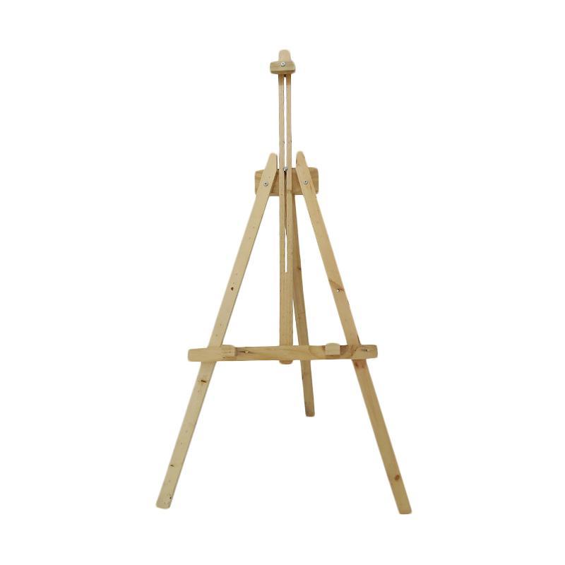 harga Third Party Frame Kayu Wooden Easel Lukis Lipat Portable Standing Tripod Blibli.com