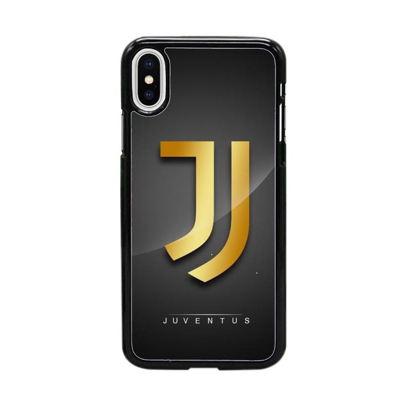 Acc Hp Juventus Logo Football Club W4952 Custom Casing for iPhone X