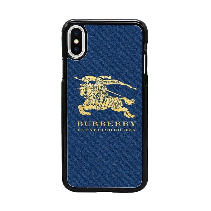 Acc Hp Burberry Established 1856 W5092 Custom Casing for Iphone X