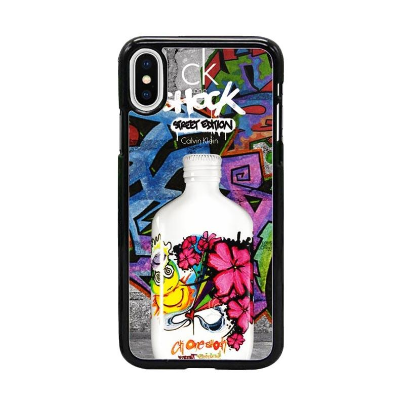 Acc Hp CK One Shock Street Edition W5082 Custom Casing for iPhone X