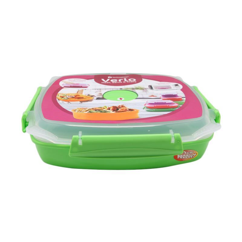 harga Homeco Verio Microwave Heat and Serve Plate Tempat Makan - Hijau [1.27 L] Blibli.com
