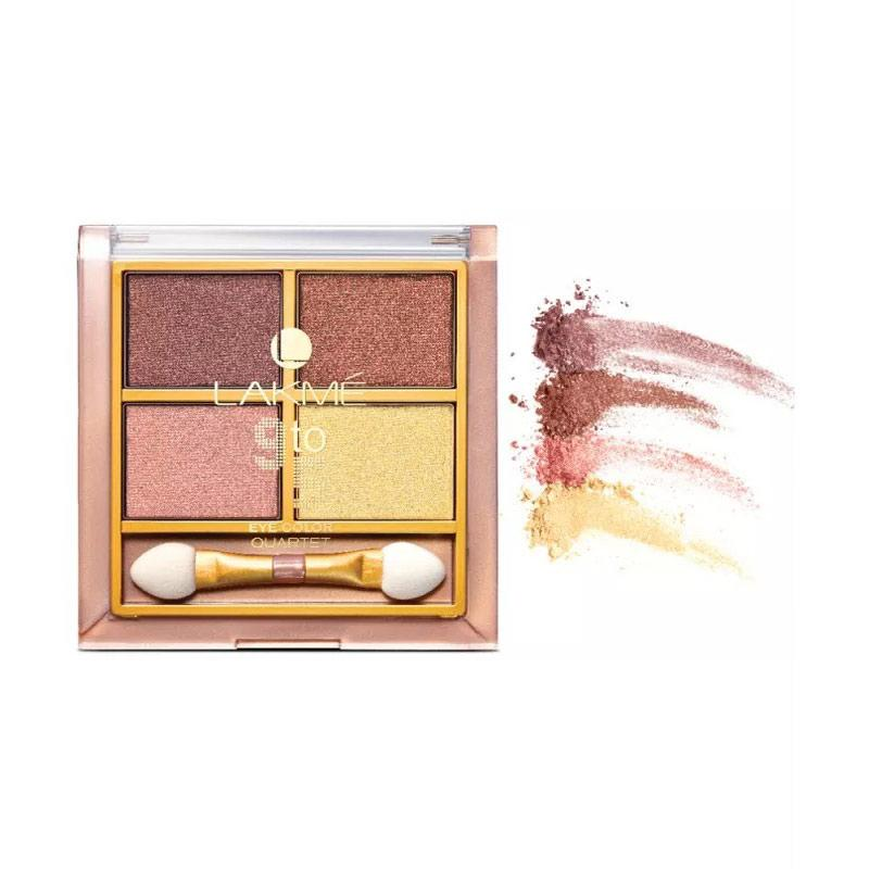 Lakme 9to5 Reinvent Eyecolor Quartet Eye Shadow