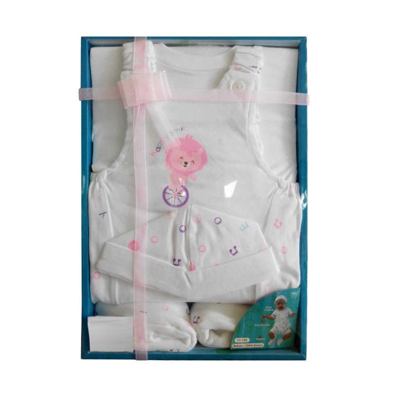 Kiddy 11- 135 Lion Set Pakaian Bayi - Pink