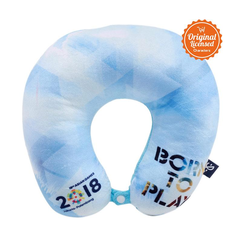 Asian Games 2018 Born To Play Neck Cushion