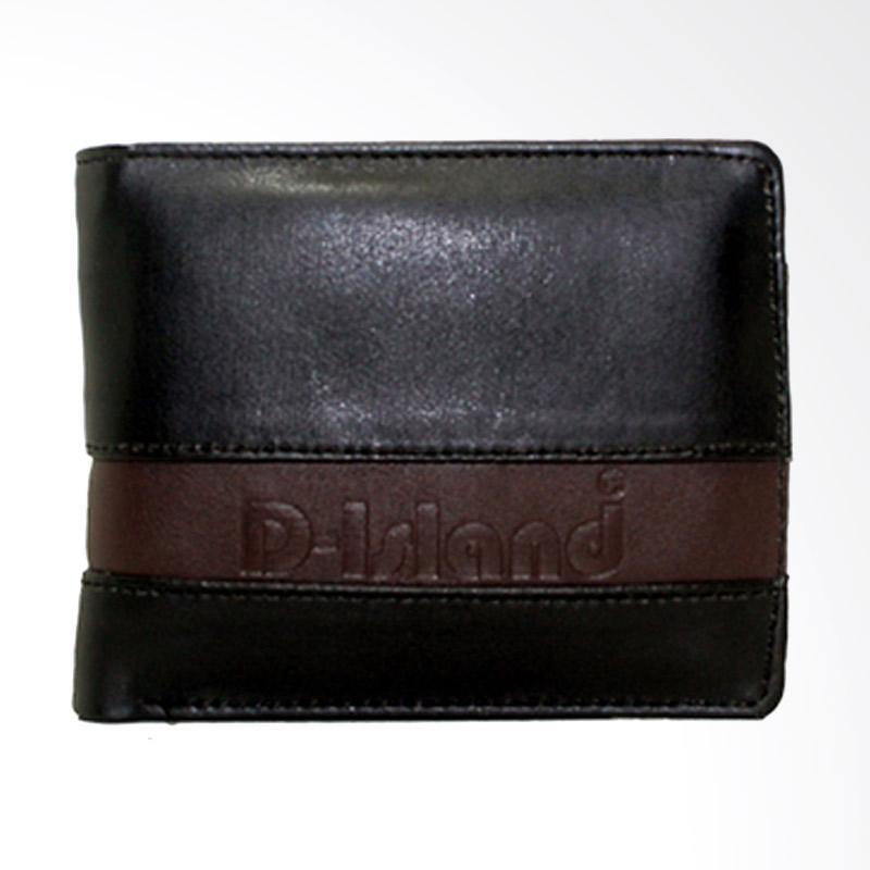 harga D-Island Shoes Elegan Two Wallet - Black Blibli.com