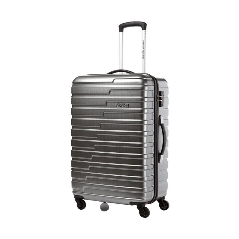 American Tourister 55 20 TSA Handy Spinner Hardcase Koper Mat Grey 20 Inch
