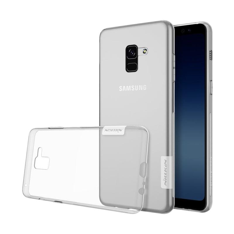 Nillkin Nature TPU Softcase Cover Casing for Samsung Galaxy A8 Plus 2018 or A730F - Clear