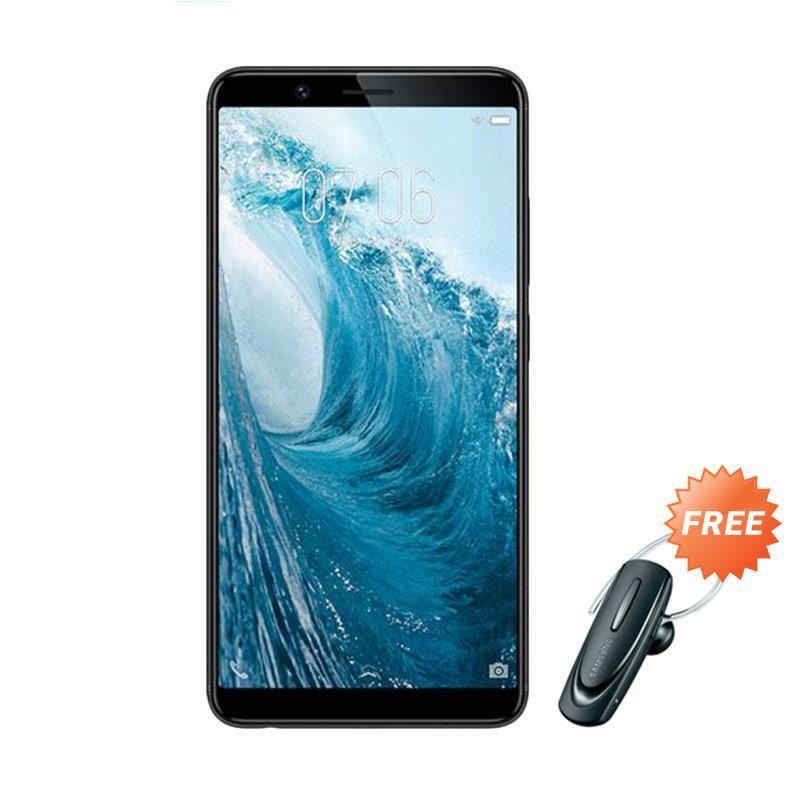harga VIVO Y71 Smartphone - Black [32 GB/ 3 GB] + Free Headset Bluetooth Blibli.com