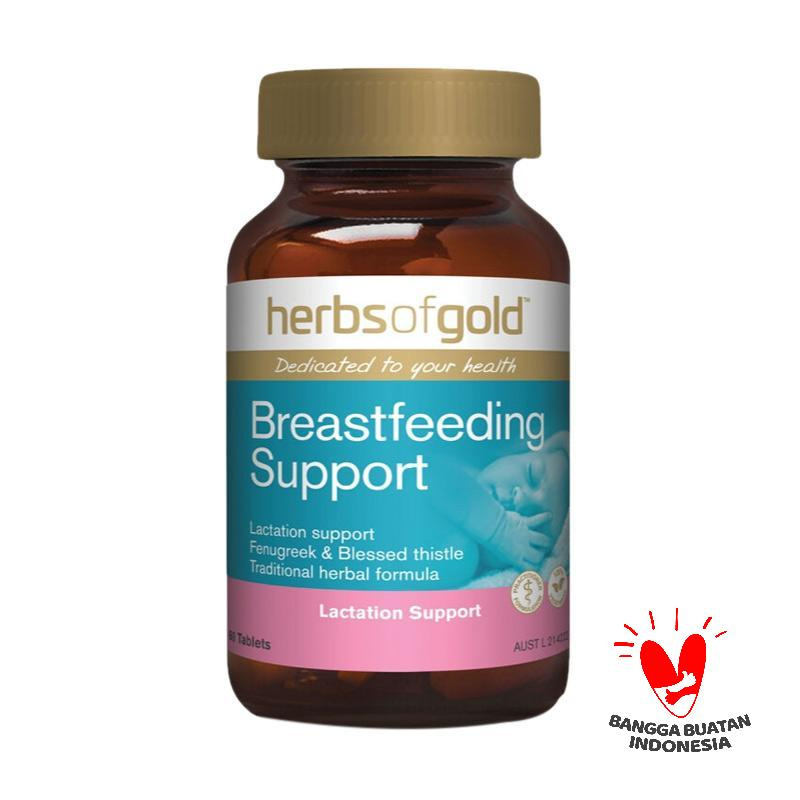 Herbs of Gold Breastfeeding Support ASI Booster Multivitamin 60 Tablets