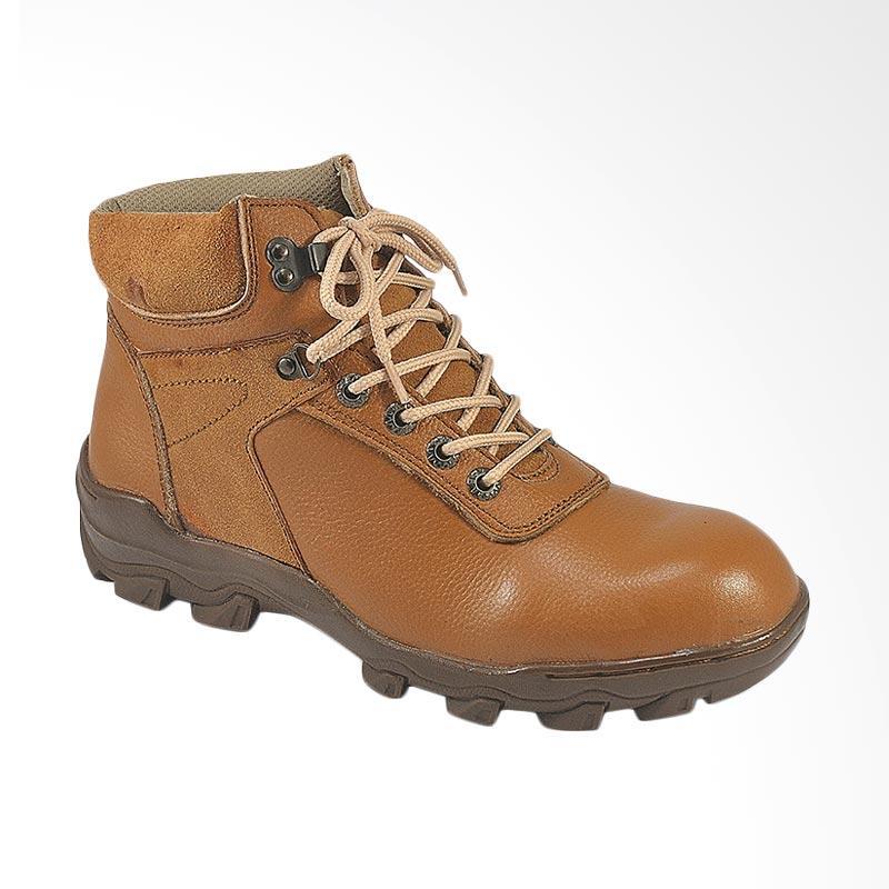 Jual CBR Six Sepatu Safety Pria - Tan  HRC 385  Online - Harga   Kualitas  Terjamin  0fc710655d