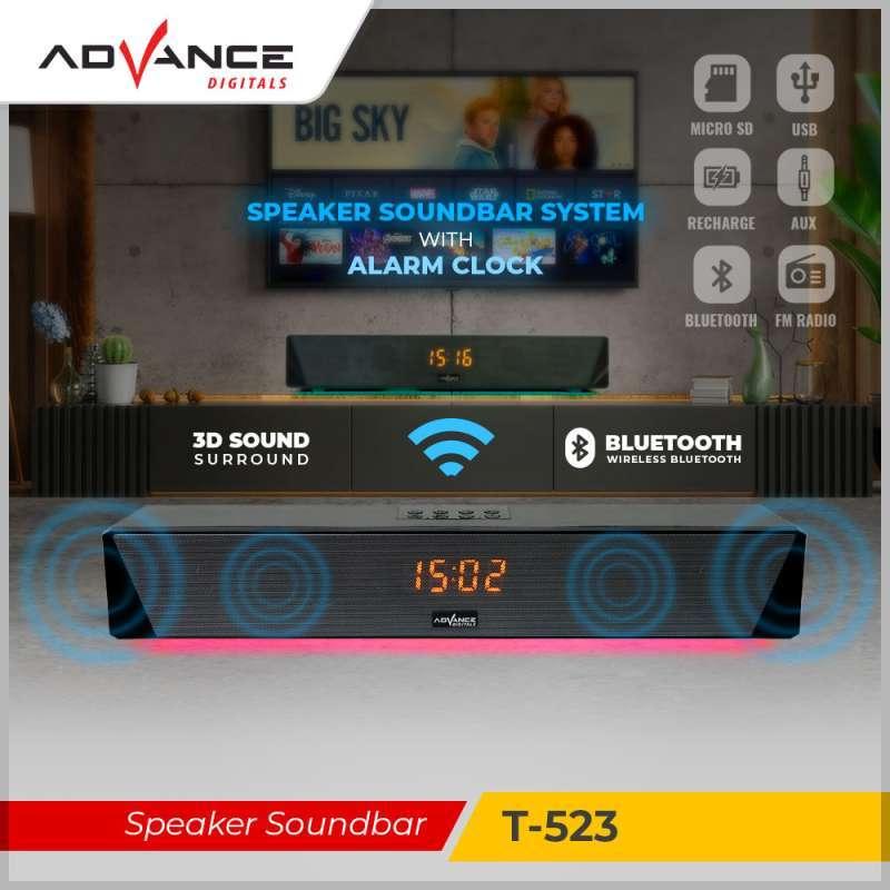 Advance Speaker Soundbar Portable Bluetooth T-523