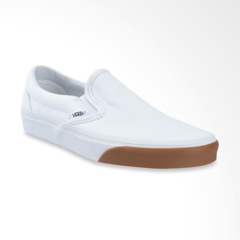 Vans UA Classic Gum Bumper Slip On Sepatu Pria True White