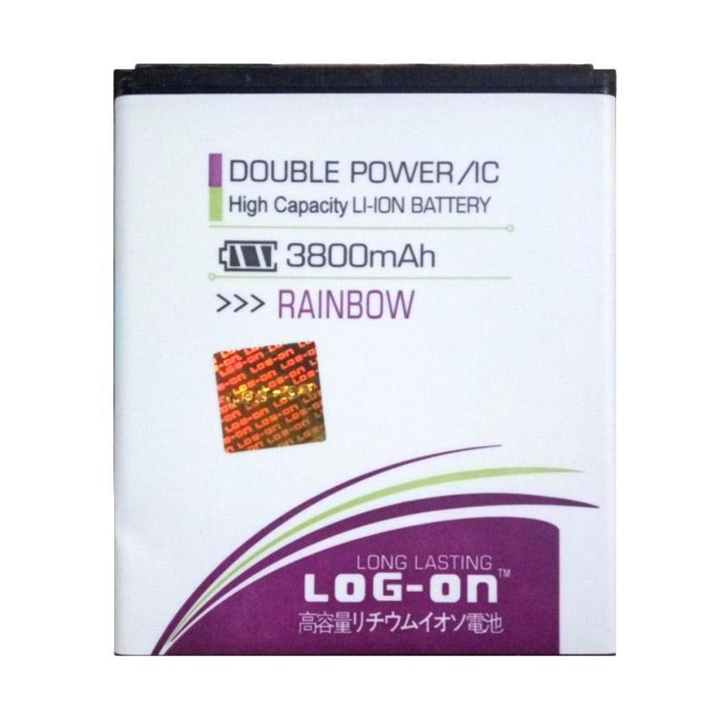harga Log On Double Power Battery for WIKO Rainbow [3800 mAh] Blibli.com