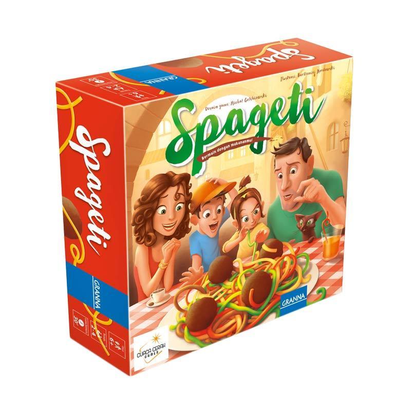 Spageti Bermain Dengan Makananmu